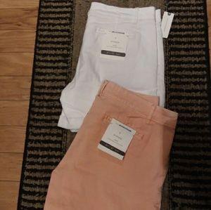 Pants - 2 Anthropologie Boy Fit Shorts